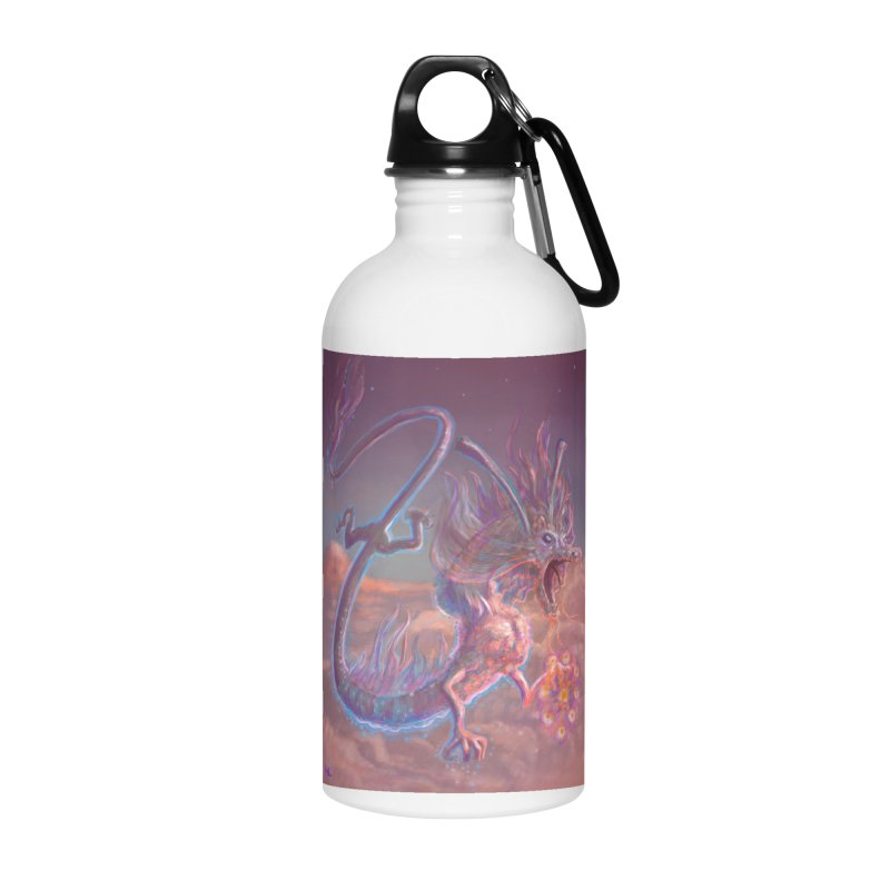 Sky Dragon Accessories Water Bottle by Unigon Pics Delicious Merch Shoppe