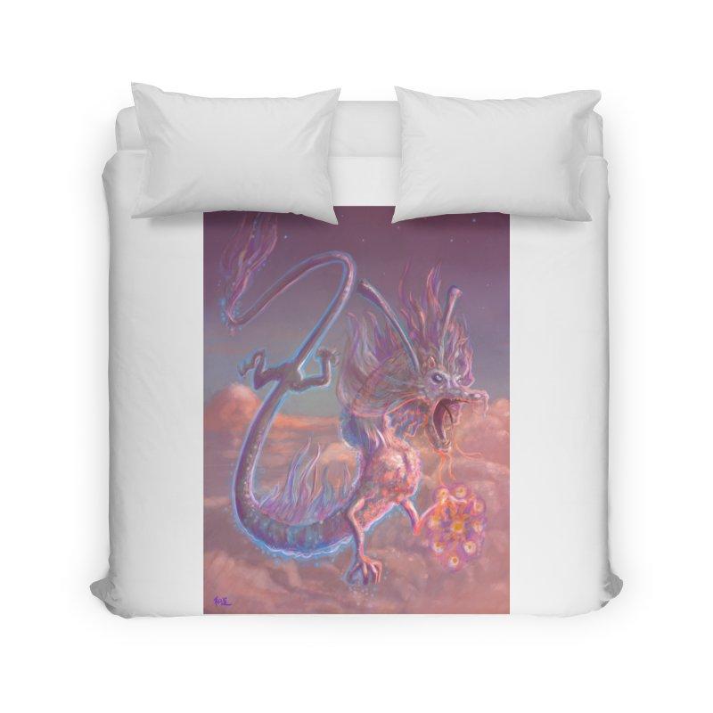 Sky Dragon Home Duvet by Unigon Pics Delicious Merch Shoppe