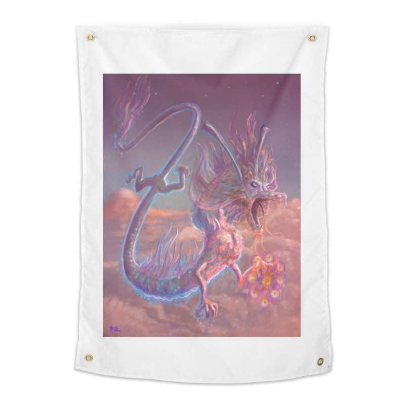 Sky Dragon Home Tapestry by Unigon Pics Delicious Merch Shoppe