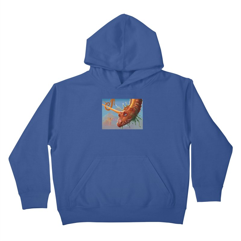 Arrested! Kids Pullover Hoody by Unigon Pics Delicious Merch Shoppe