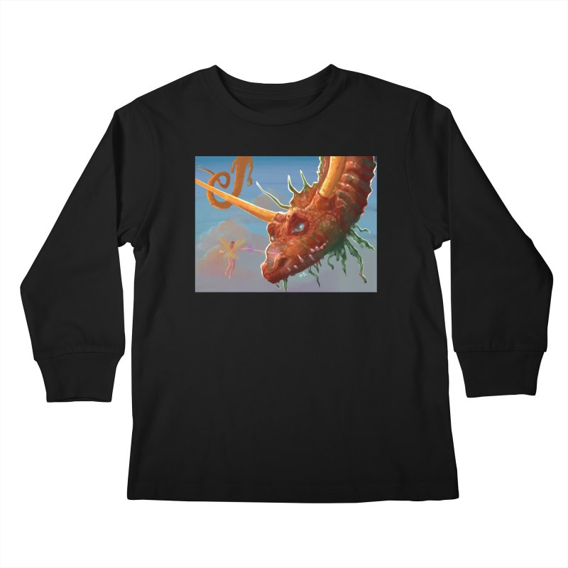 Arrested! Kids Longsleeve T-Shirt by Unigon Pics Delicious Merch Shoppe