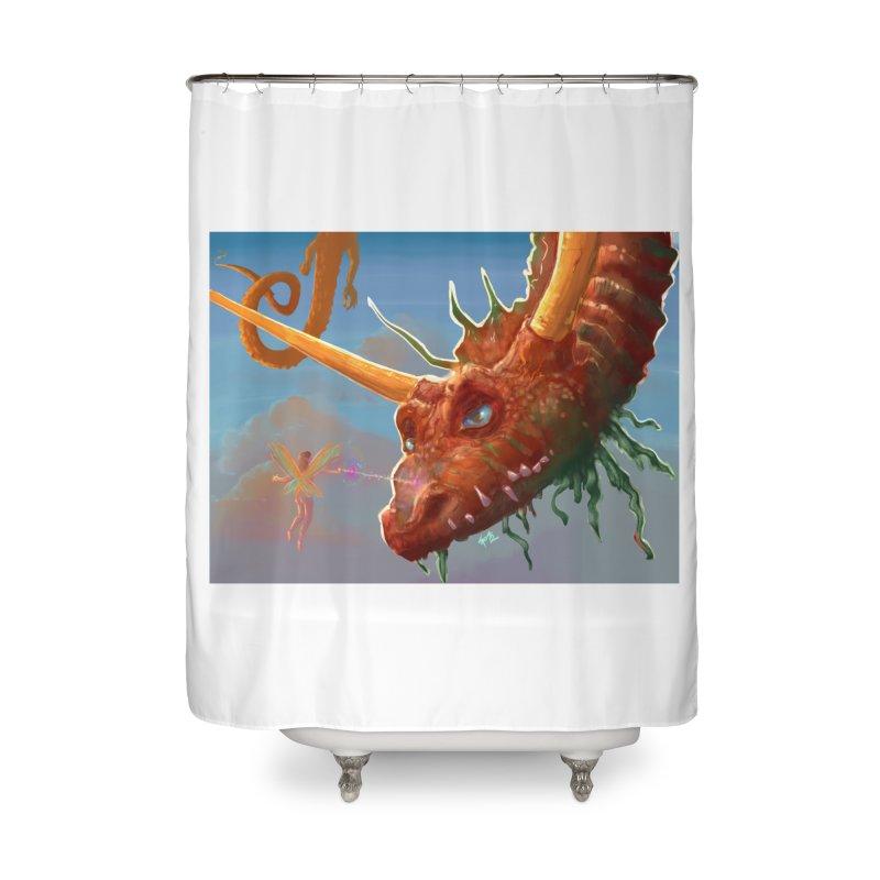 Arrested! Home Shower Curtain by Unigon Pics Delicious Merch Shoppe