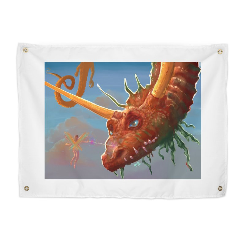 Arrested! Home Tapestry by Unigon Pics Delicious Merch Shoppe