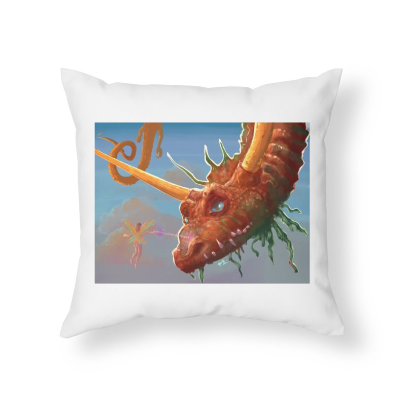 Arrested! Home Throw Pillow by Unigon Pics Delicious Merch Shoppe