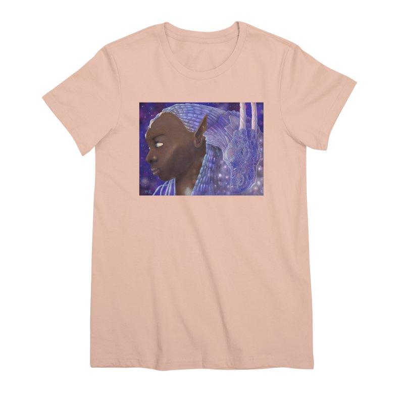Dragon Lady Women's Premium T-Shirt by Unigon Pics Delicious Merch Shoppe