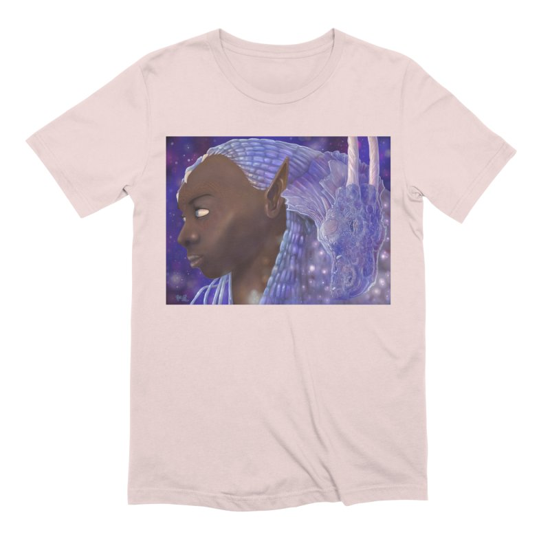 Dragon Lady Men's Extra Soft T-Shirt by Unigon Pics Delicious Merch Shoppe