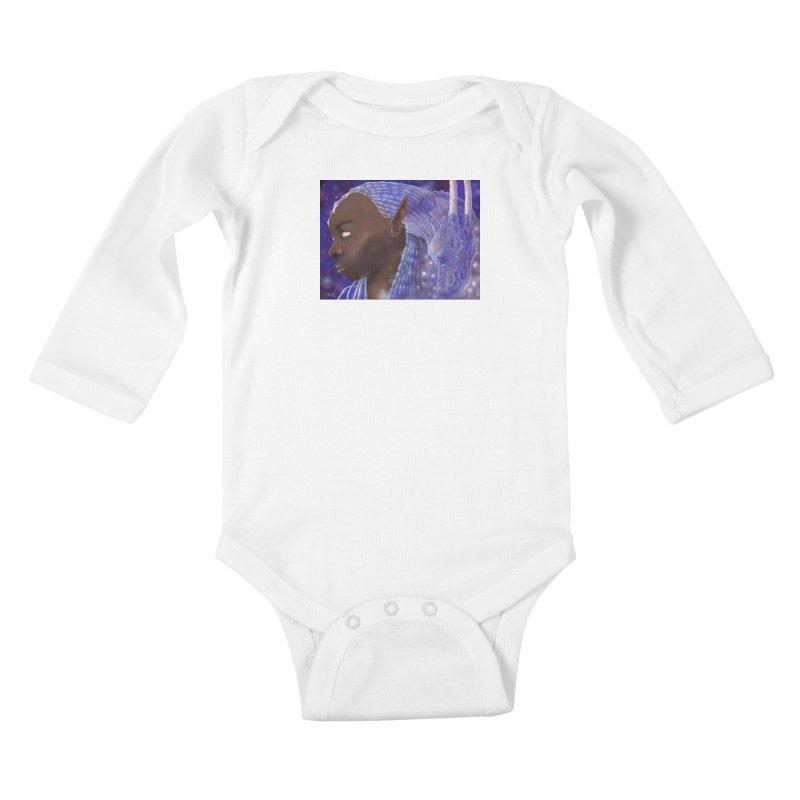Dragon Lady Kids Baby Longsleeve Bodysuit by Unigon Pics Delicious Merch Shoppe