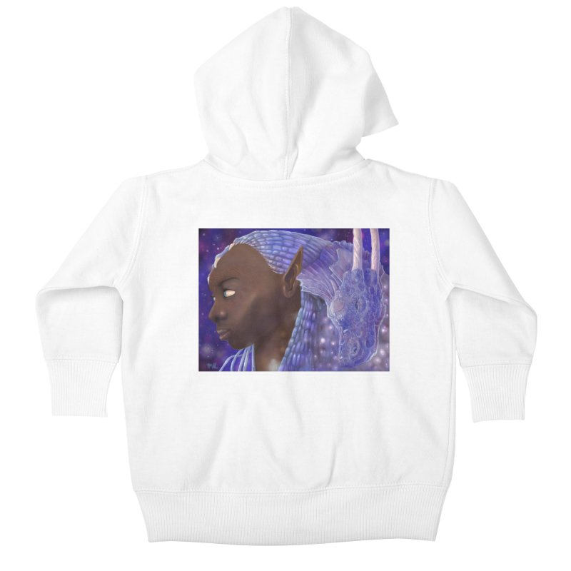 Dragon Lady Kids Baby Zip-Up Hoody by Unigon Pics Delicious Merch Shoppe