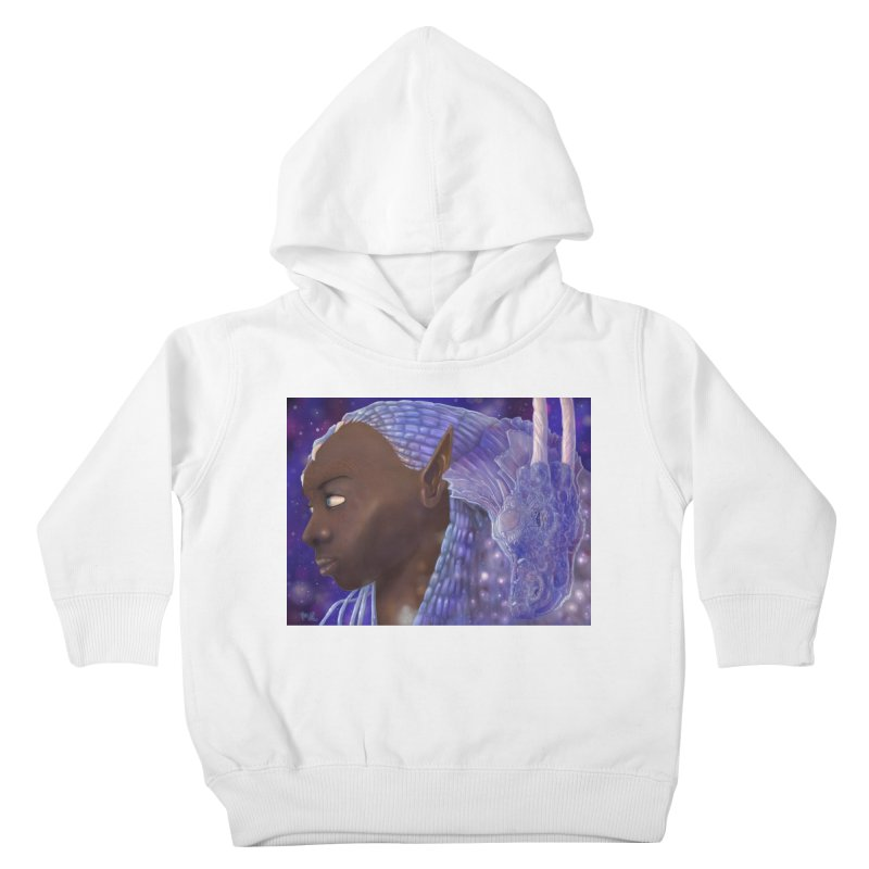 Dragon Lady Kids Toddler Pullover Hoody by Unigon Pics Delicious Merch Shoppe