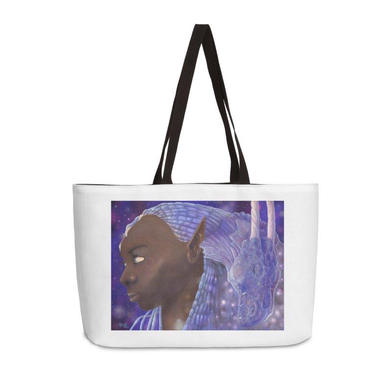 Dragon Lady Accessories Weekender Bag Bag by Unigon Pics Delicious Merch Shoppe