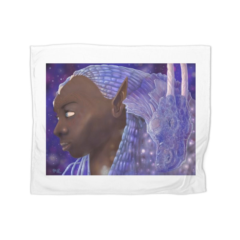 Dragon Lady Home Blanket by Unigon Pics Delicious Merch Shoppe