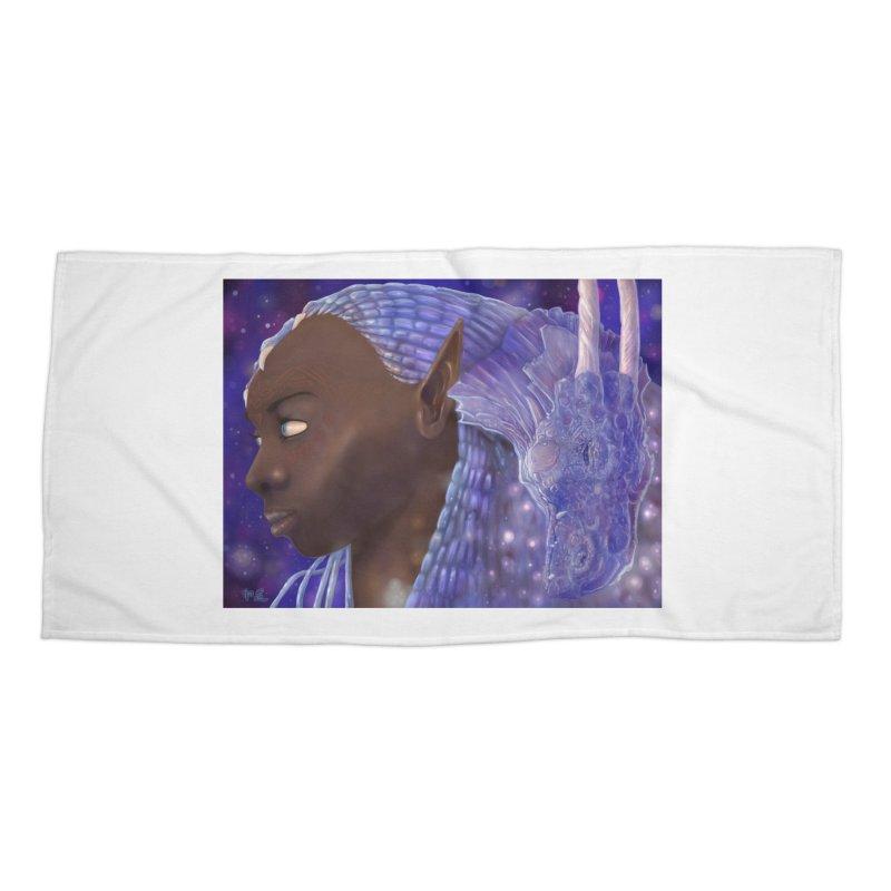 Dragon Lady Accessories Beach Towel by Unigon Pics Delicious Merch Shoppe