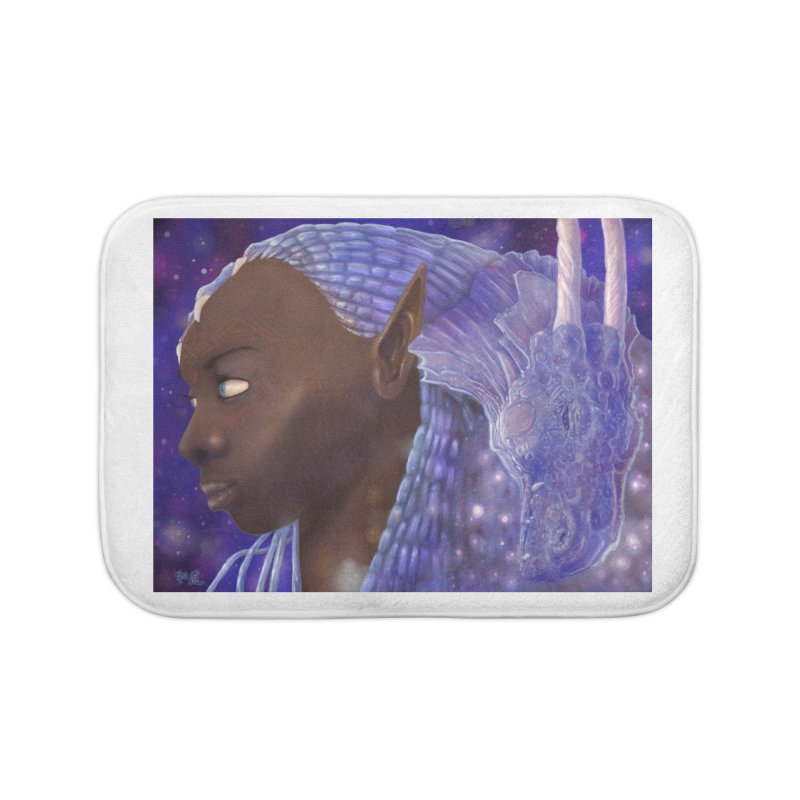 Dragon Lady Home Bath Mat by Unigon Pics Delicious Merch Shoppe