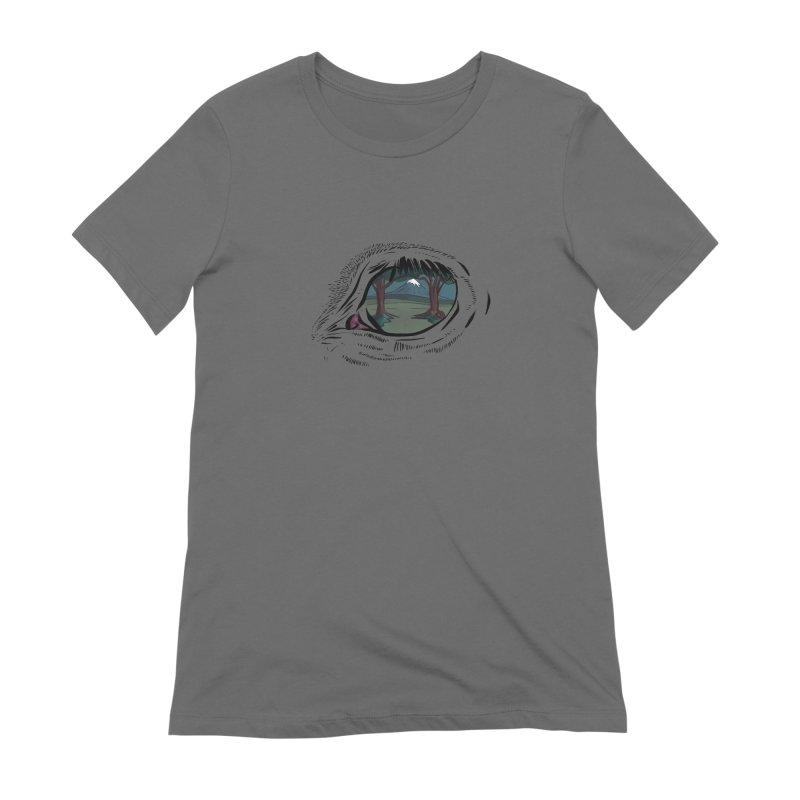 Unicorn Eye Women's T-Shirt by Unigon Pics Delicious Merch Shoppe