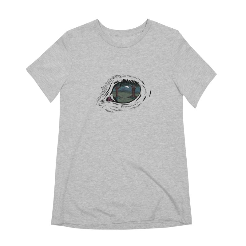 Unicorn Eye Women's Extra Soft T-Shirt by Unigon Pics Delicious Merch Shoppe