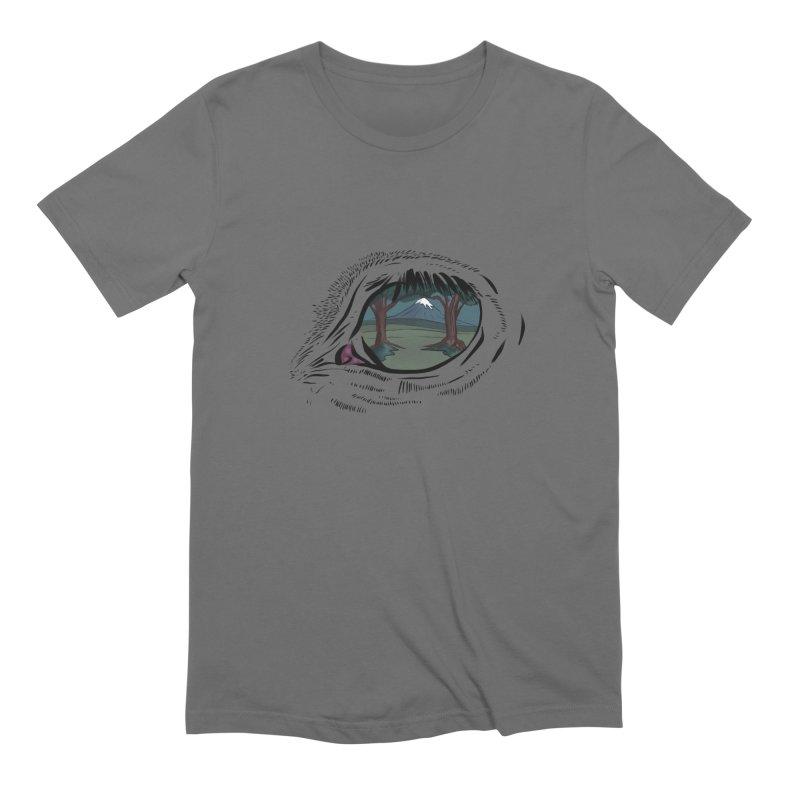 Unicorn Eye Men's T-Shirt by Unigon Pics Delicious Merch Shoppe