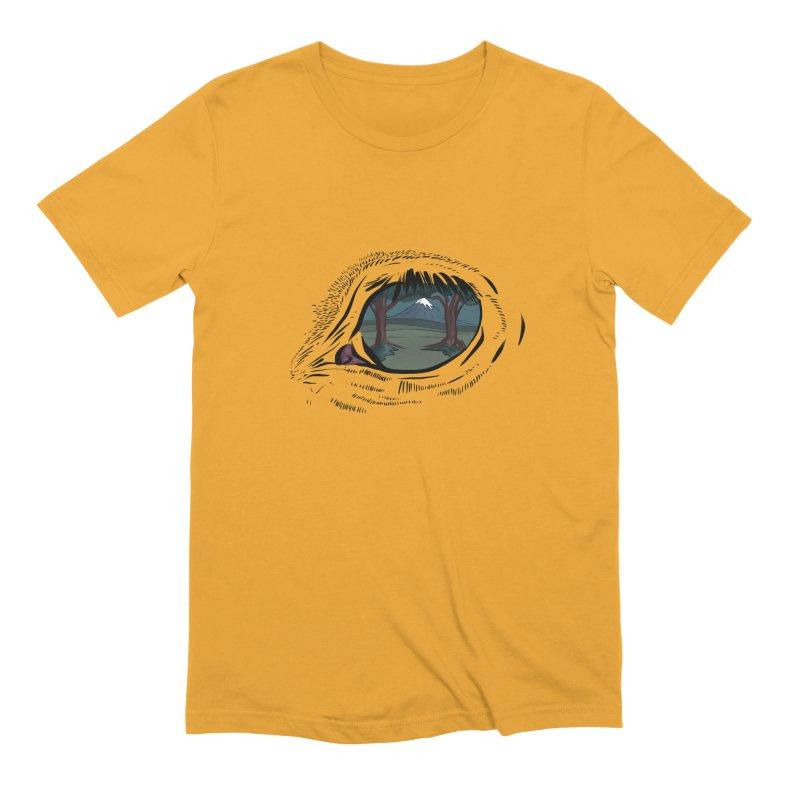 Unicorn Eye Men's Extra Soft T-Shirt by Unigon Pics Delicious Merch Shoppe