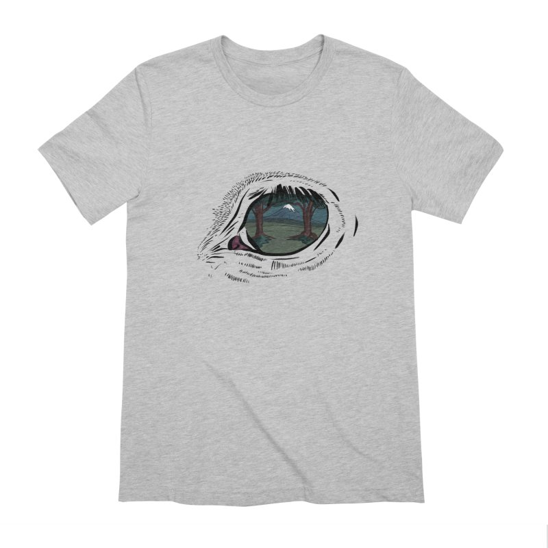 Unicorn Eye Men's Extra Soft T-Shirt by Unigon Pics Delicious Merch Shoppe