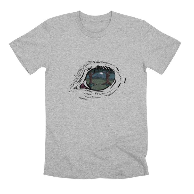 Unicorn Eye Men's Premium T-Shirt by Unigon Pics Delicious Merch Shoppe