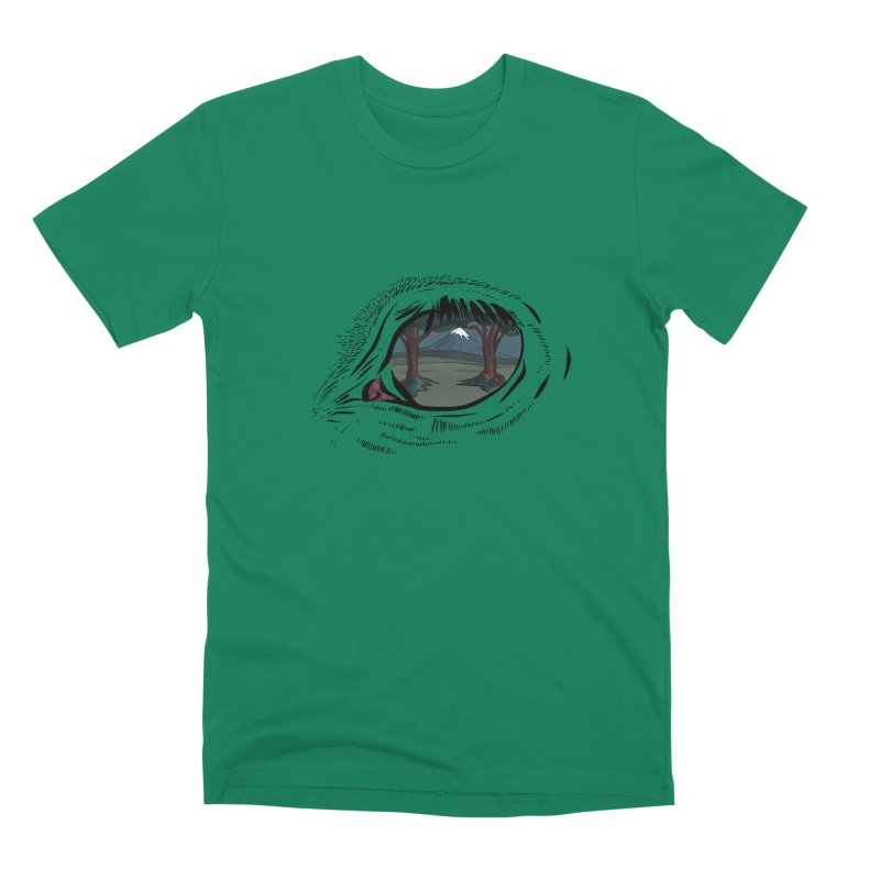 Unicorn Eye Men's Premium T-Shirt by Unigon Pics Delicious Merch Shoppe