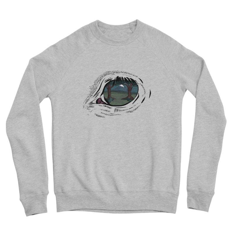 Unicorn Eye Men's Sponge Fleece Sweatshirt by Unigon Pics Delicious Merch Shoppe