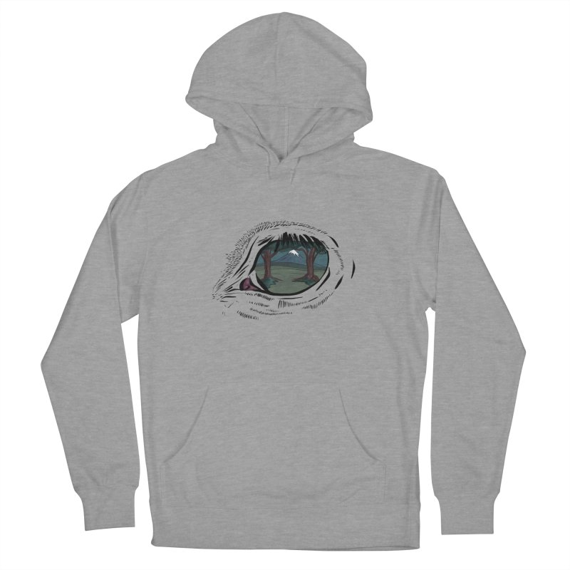 Unicorn Eye Women's French Terry Pullover Hoody by Unigon Pics Delicious Merch Shoppe