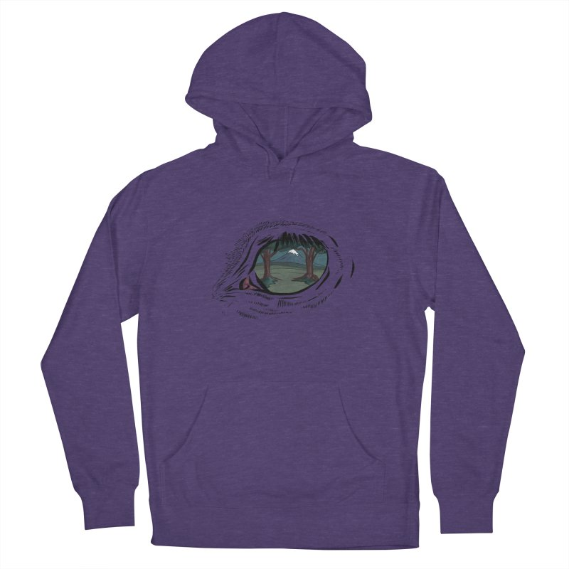 Unicorn Eye Men's French Terry Pullover Hoody by Unigon Pics Delicious Merch Shoppe