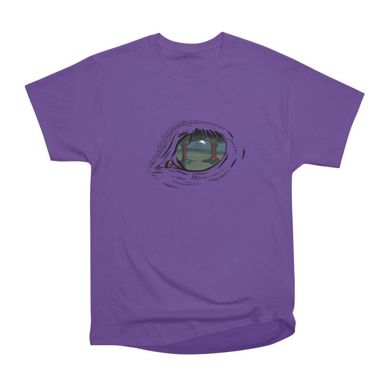 Unicorn Eye Women's Heavyweight Unisex T-Shirt by Unigon Pics Delicious Merch Shoppe