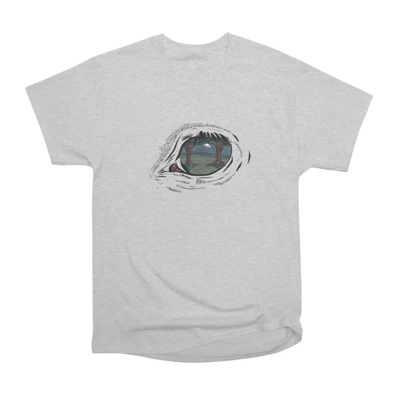 Unicorn Eye Men's Heavyweight T-Shirt by Unigon Pics Delicious Merch Shoppe