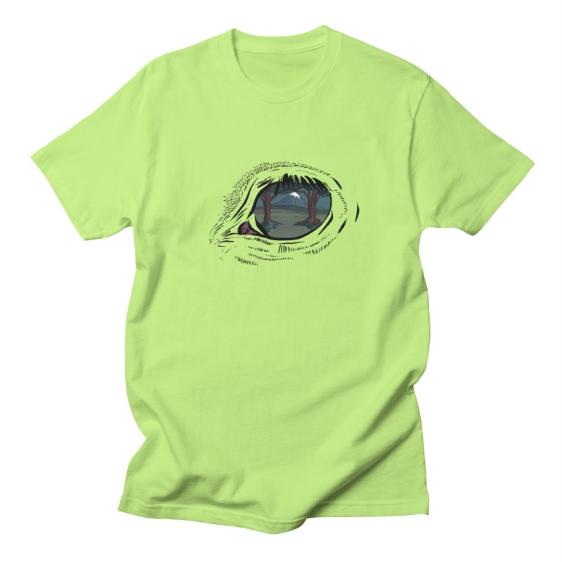 Unicorn Eye Men's Regular T-Shirt by Unigon Pics Delicious Merch Shoppe