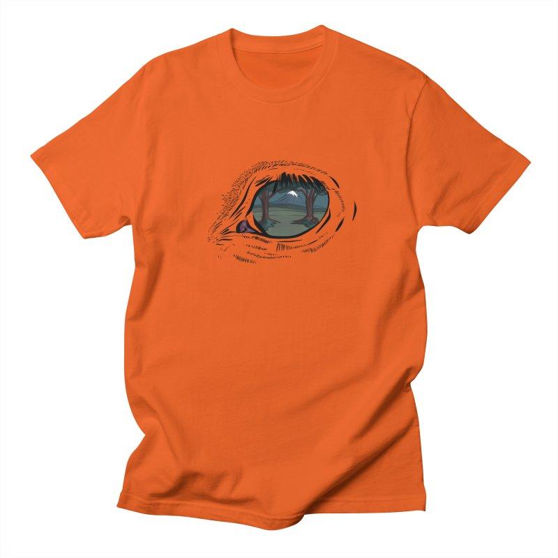 Unicorn Eye Women's Regular Unisex T-Shirt by Unigon Pics Delicious Merch Shoppe