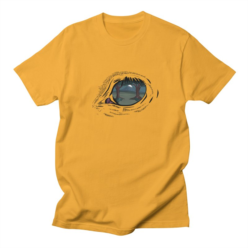 Unicorn Eye Men's Regular T-Shirt by Unigon Pics Delicious Merch Shoppe