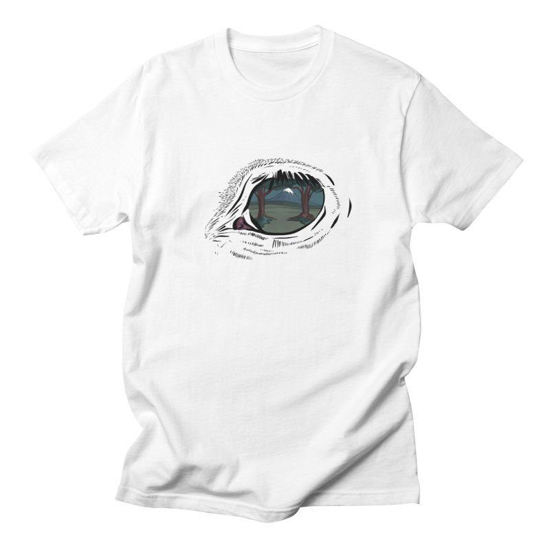 Unicorn Eye Women's Regular Unisex T-Shirt by Unigon Pics Delicious Merch Shoppe