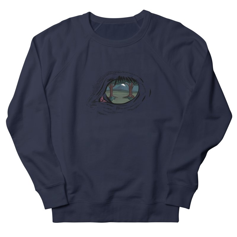 Unicorn Eye Women's French Terry Sweatshirt by Unigon Pics Delicious Merch Shoppe