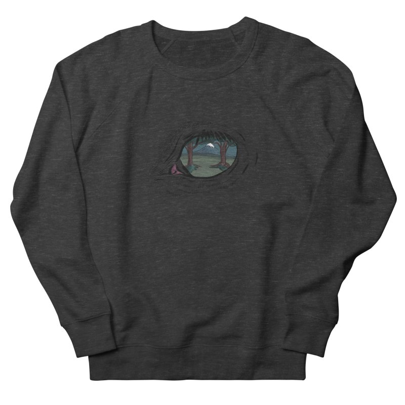 Unicorn Eye Men's French Terry Sweatshirt by Unigon Pics Delicious Merch Shoppe