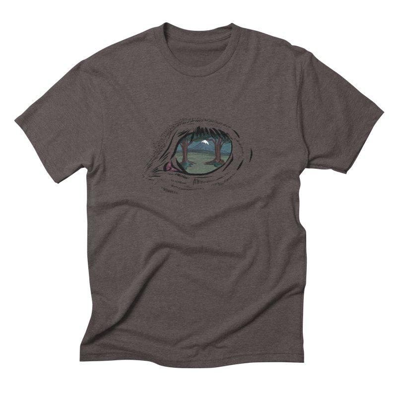 Unicorn Eye Men's Triblend T-Shirt by Unigon Pics Delicious Merch Shoppe