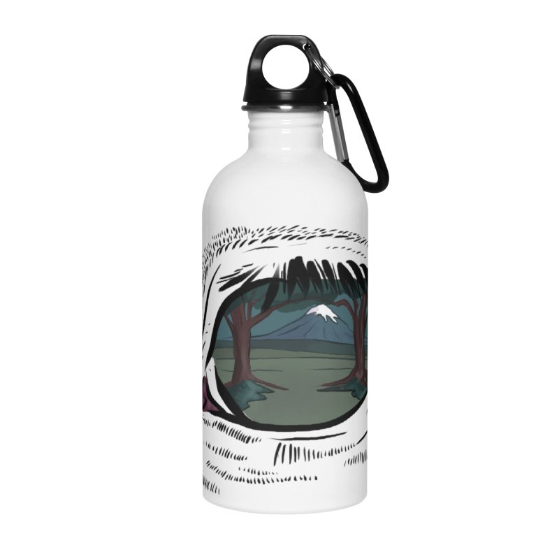 Unicorn Eye Accessories Water Bottle by Unigon Pics Delicious Merch Shoppe