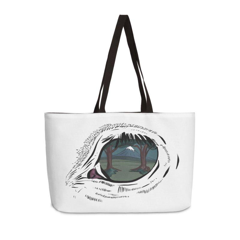 Unicorn Eye Accessories Weekender Bag Bag by Unigon Pics Delicious Merch Shoppe