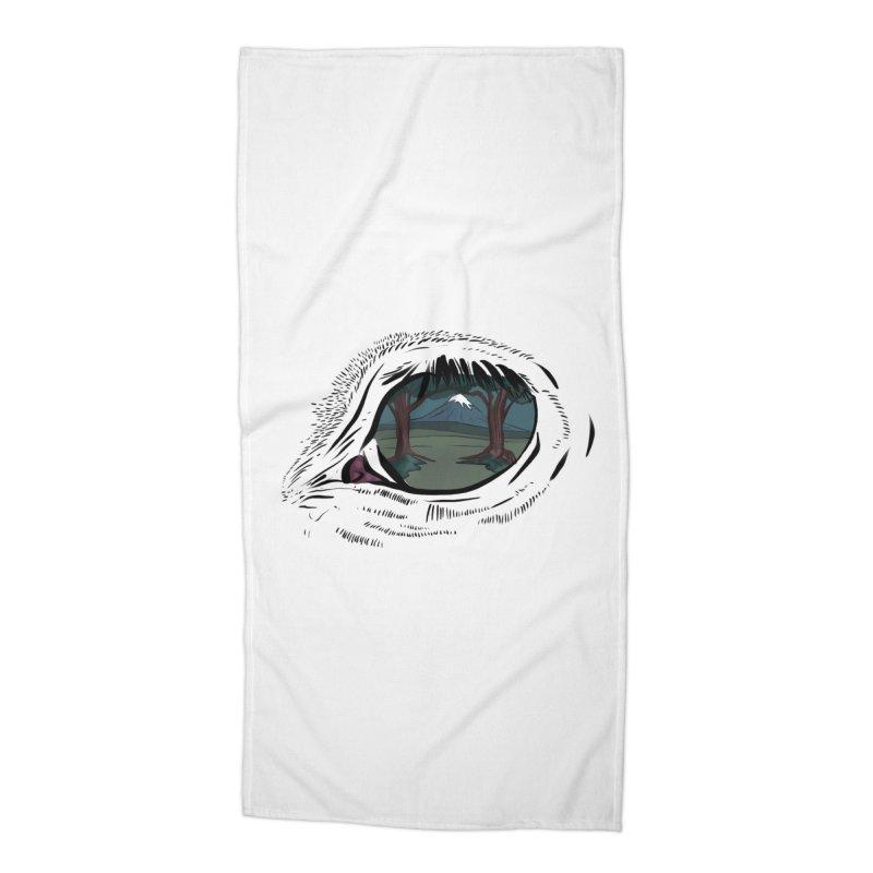 Unicorn Eye Accessories Beach Towel by Unigon Pics Delicious Merch Shoppe
