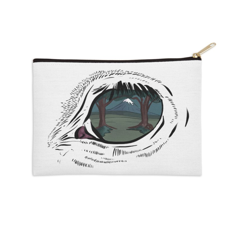 Unicorn Eye Accessories Zip Pouch by Unigon Pics Delicious Merch Shoppe