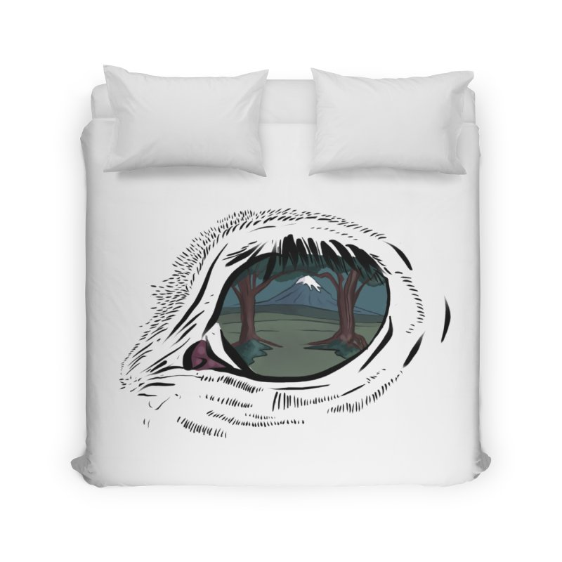 Unicorn Eye Home Duvet by Unigon Pics Delicious Merch Shoppe