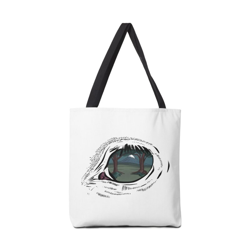 Unicorn Eye Accessories Bag by Unigon Pics Delicious Merch Shoppe
