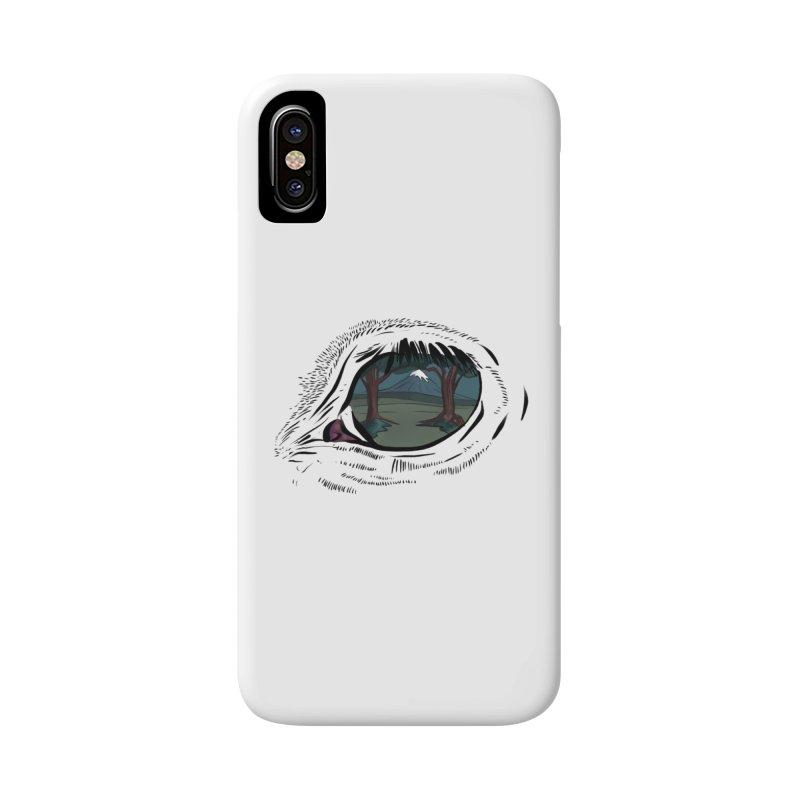 Unicorn Eye Accessories Phone Case by Unigon Pics Delicious Merch Shoppe