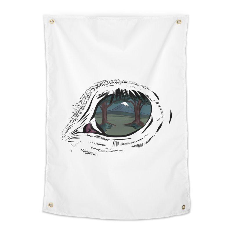 Unicorn Eye Home Tapestry by Unigon Pics Delicious Merch Shoppe
