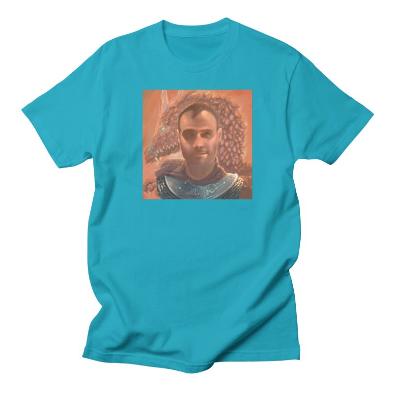 Dragon Warden Men's Regular T-Shirt by Unigon Pics Delicious Merch Shoppe