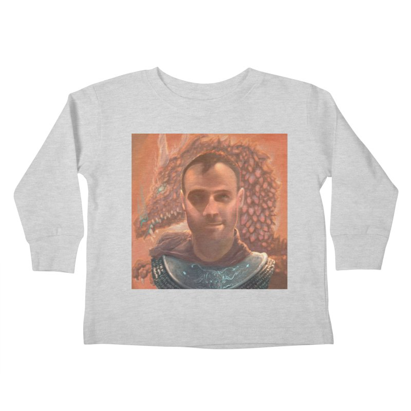 Dragon Warden Kids Toddler Longsleeve T-Shirt by Unigon Pics Delicious Merch Shoppe