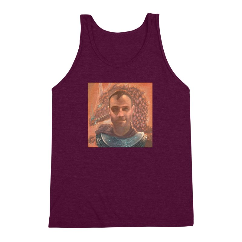 Dragon Warden Men's Triblend Tank by Unigon Pics Delicious Merch Shoppe