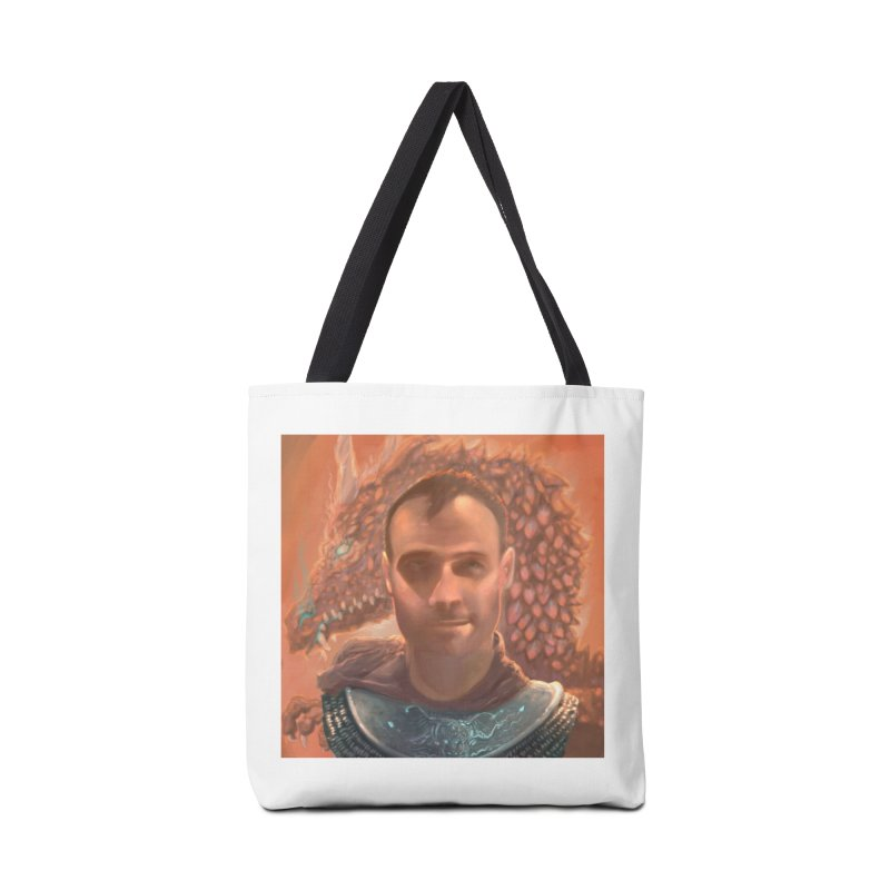 Dragon Warden Accessories Tote Bag Bag by Unigon Pics Delicious Merch Shoppe
