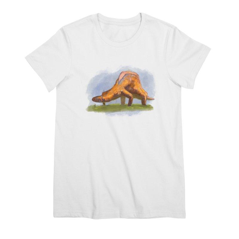 Hello, friend! Women's Premium T-Shirt by Unigon Pics Delicious Merch Shoppe