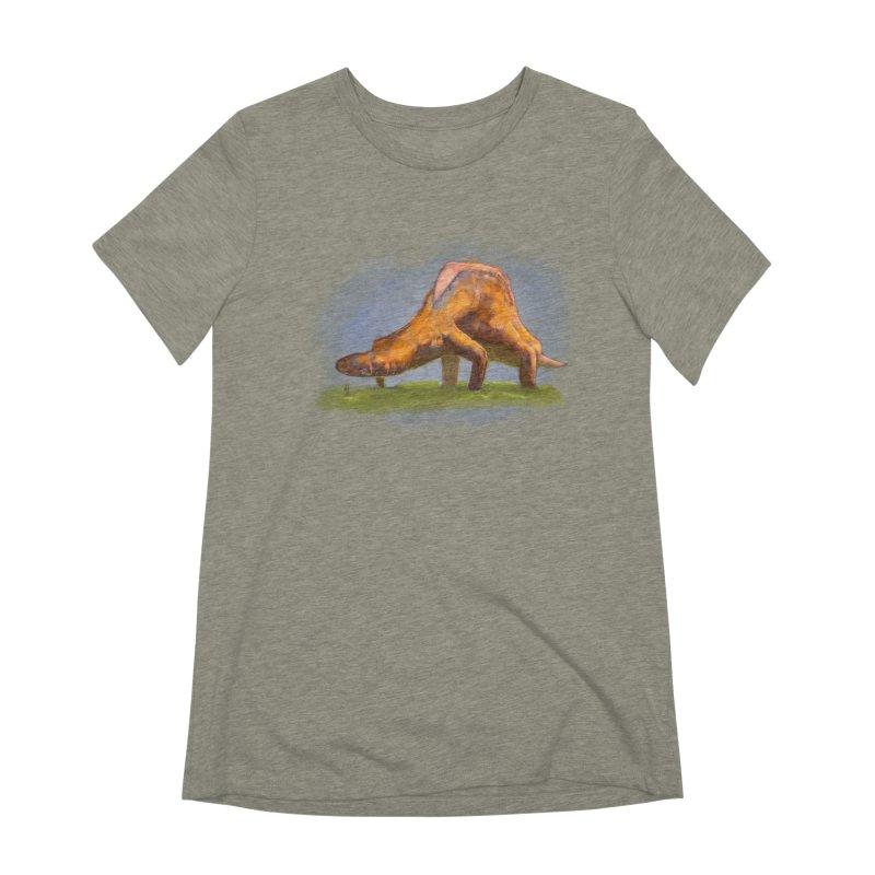 Hello, friend! Women's Extra Soft T-Shirt by Unigon Pics Delicious Merch Shoppe